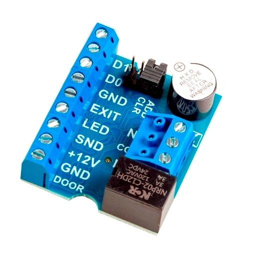 Автономный контроллер Модель: Z-5R Relay Wiegand
